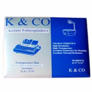 Acetato para fotocopia Inject K&CO