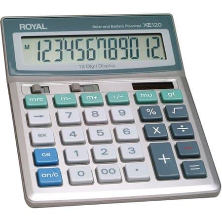 Calculadora Royal XE120